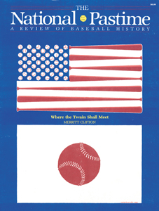The National Pastime, Spring 1985