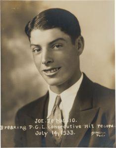 Joe DiMaggio, 1933