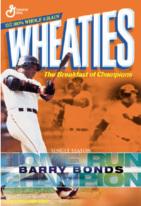 Barry Bonds, hero