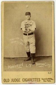 Billy Hamilton, Kansas City, 1888-89