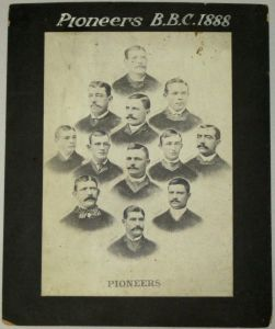 Henry Moore with 1888 San Francisco Pioneers,