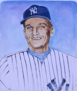Roger Maris, by Jim Trusilo