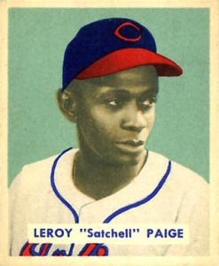 Paige, Bowman card, 1949