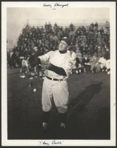 Casey Stengel in Japan, 1922