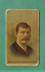 Chris von der Ahe, 1887