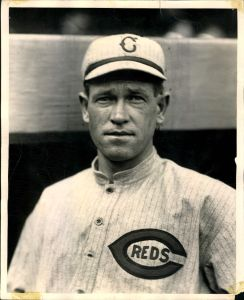 Hal Chase with Reds