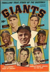 30_1951-52 Giants comic book