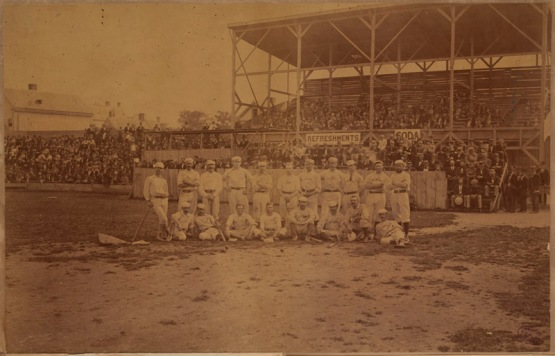 Philadelphia Athletics at Boston, 1874 or 1875