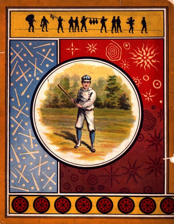 11. Base-Ball ABC, back cover, McLoughlin 1885