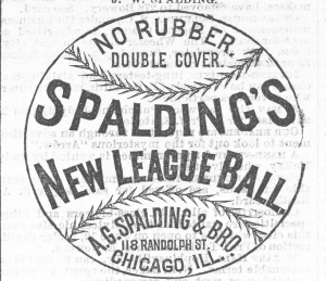 Spalding's New Ball for 1876, Clipper