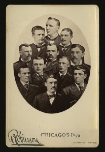 1879 Chicago Team, Anson at top