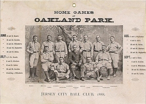 1888 Jersey City Ball Club