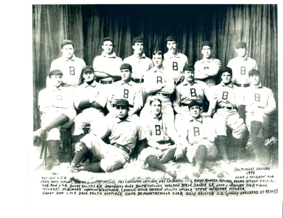 1899 baltimore orioles
