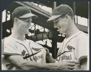 Stan Musial, 1941 (right)