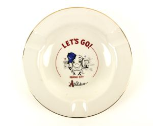 1954 KC Athletics ashtray