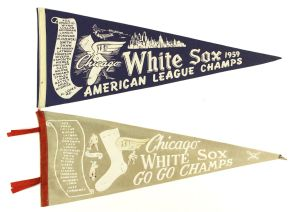 1959 Chicago White Sox pennants