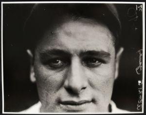 Lou Gehrig closeup by Conlon