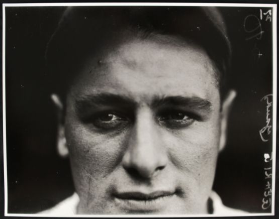 Lou Gehrig closeup by Conlon