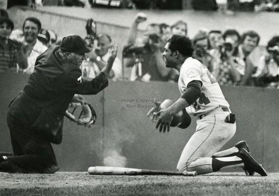 Willie Mays in 1973 World Series