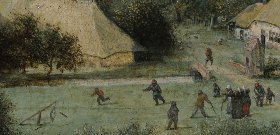 Batting Game Bruegel Harvesters Closeup_crop