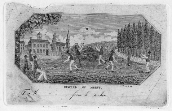Wicket in 1821, engraved by John Cheney