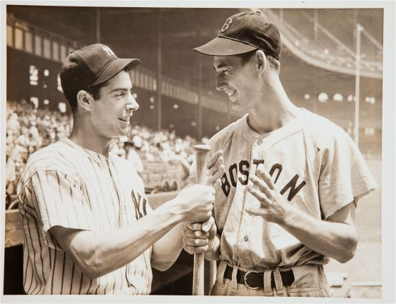Ted Williams and Joe DiMaggio, 1941