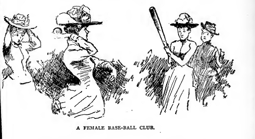 A Female Base-Ball Club, by E.W. Kemble