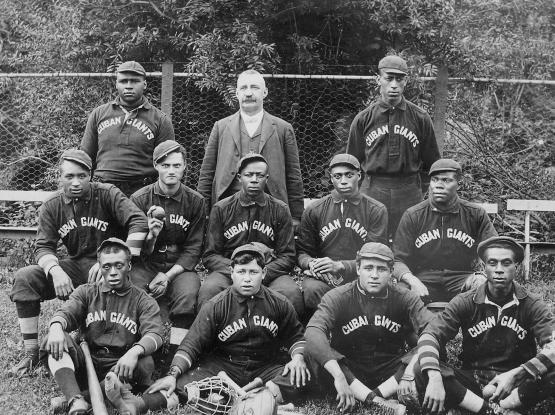 Cuban Giants, 1903, at Fleischmanns, NY