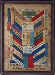 Baseball Silks, 1860s