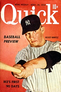 Mickey Mantle, forever young