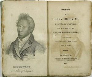 Memoirs of Henry Obookiah, 1818