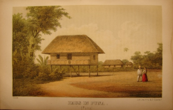 House in Puna, 1856