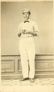 Harry Wright, cricketer, 1863