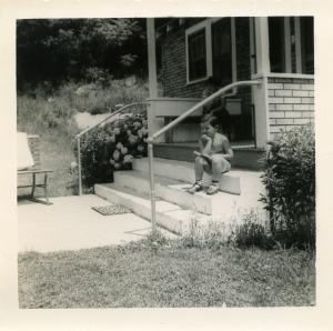 Yours truly at Fleischmanns, 1954